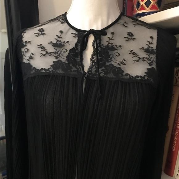 Saks Fifth Avenue Jackets & Blazers - Lovely Black and Lace Bolero